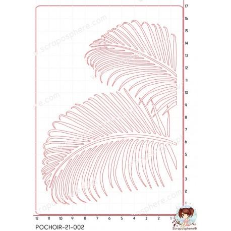 POCHOIR SCRAPOSPHERE - FOND RECTANGLES par Lily Fairy