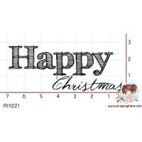 TAMPON HAPPY CHRISTMAS par Choupyne