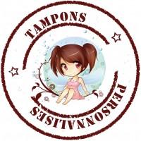 TAMPON PERSONNALISE BAT 2021-005 PS - 2 TAMPONS