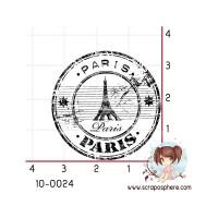 TAMPON CACHET ROND PARIS