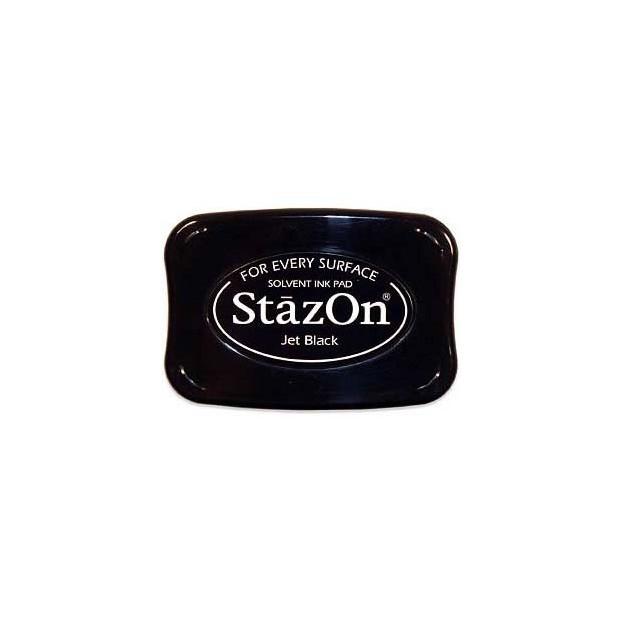 ENCREUR STAZON JET BLACK - NOIR