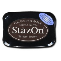 ENCREUR STAZON TIMBER BROWN - MARRON
