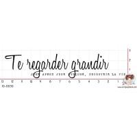 TAMPON TE REGARDER GRANDIR JOUR APRES JOUR par Binka