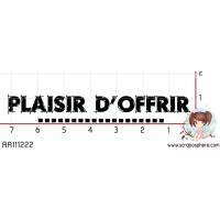 TAMPON PLAISIR D OFFRIR par Choupyne