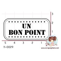 TAMPON BON POINT par Roseplumeti