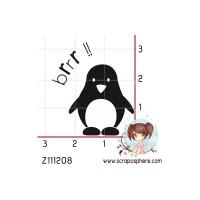 TAMPON PETIT PINGOUIN par Soph10