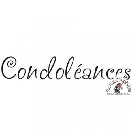 TAMPON CONDOLEANCES par Lily Fairy