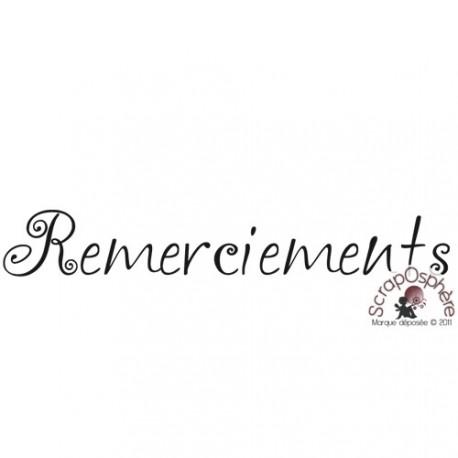 TAMPON REMERCIEMENTS par Lily Fairy